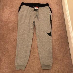 Nike sweat pants. Size Large